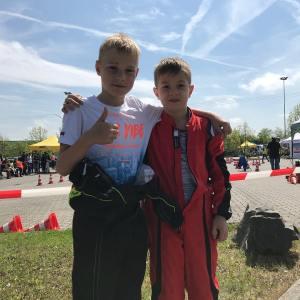 Die K1 Piloten des MSC Altenbach - Louis Arnold und Robin Böhm