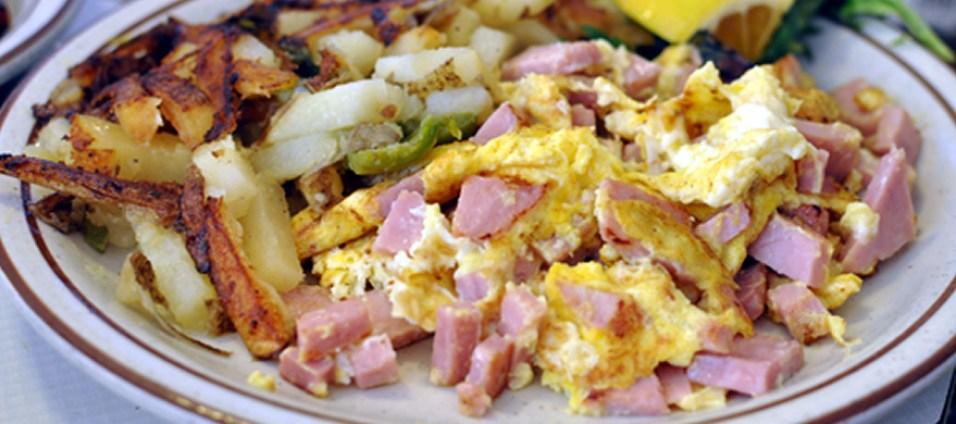 Louisa's Ham Scramble Breakfast