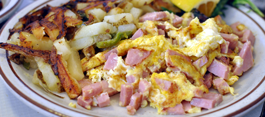 Louisa's Ham Scramble Breakfast