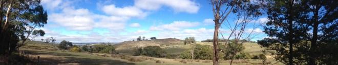 panorama near Pastoria