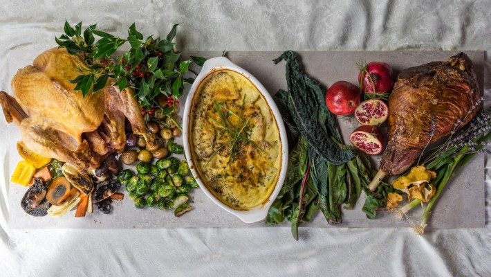 Chef Louis Gervais Showcases New Holiday Catering Menu With Media Dinner