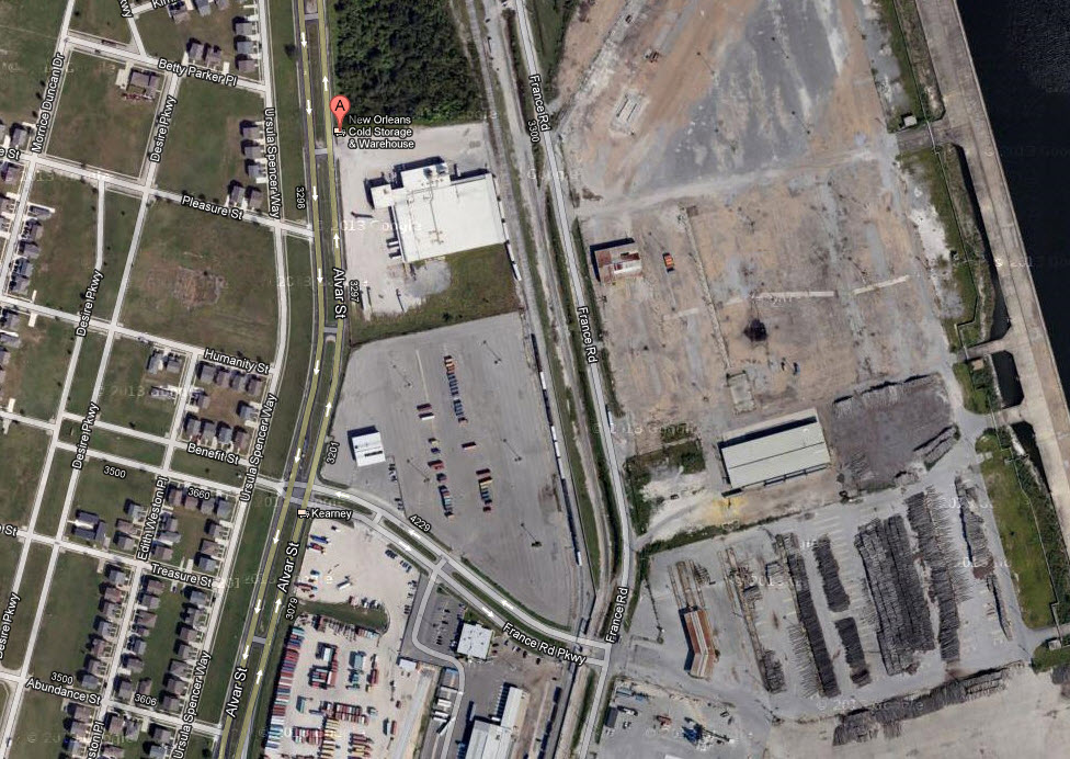 New Orleans Cold Storage Site