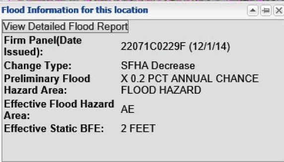 Flood Info