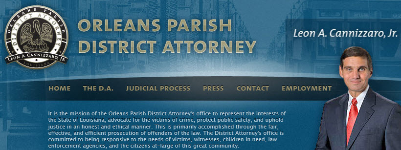 New Orleans District Attorney