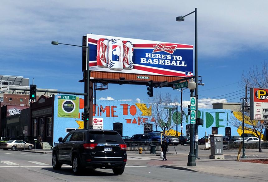 beer billboard