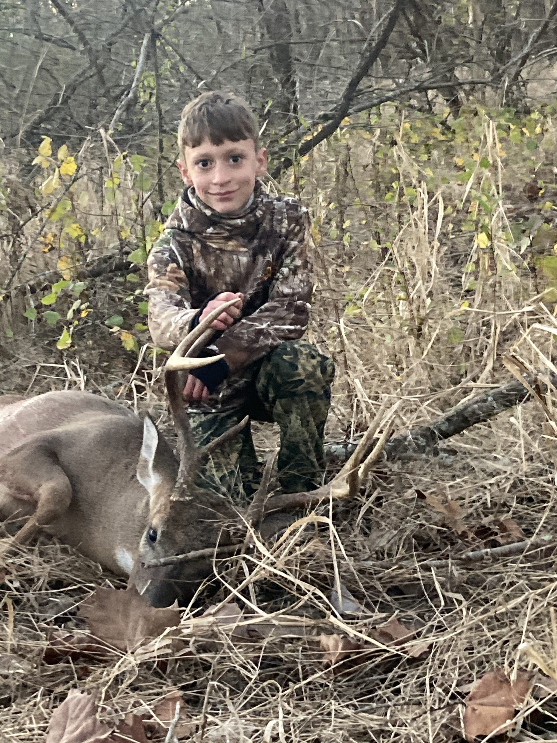 Bradley's 1st Buck