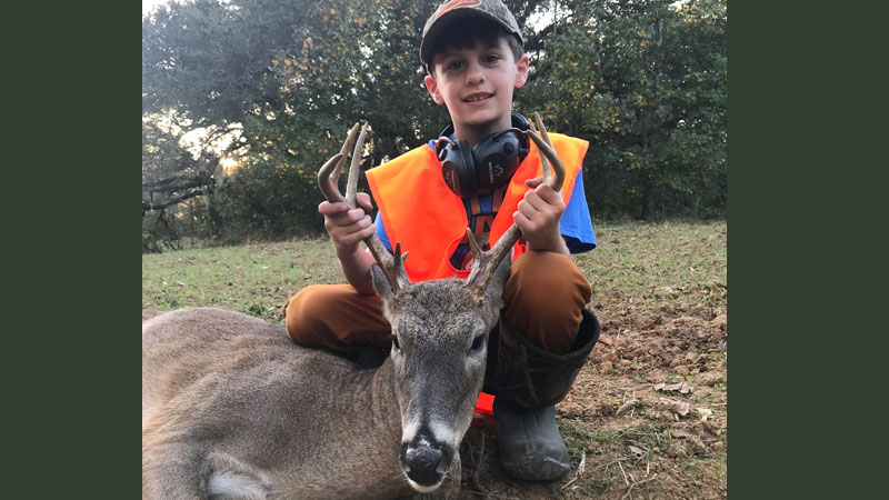 First buck for Benjamin