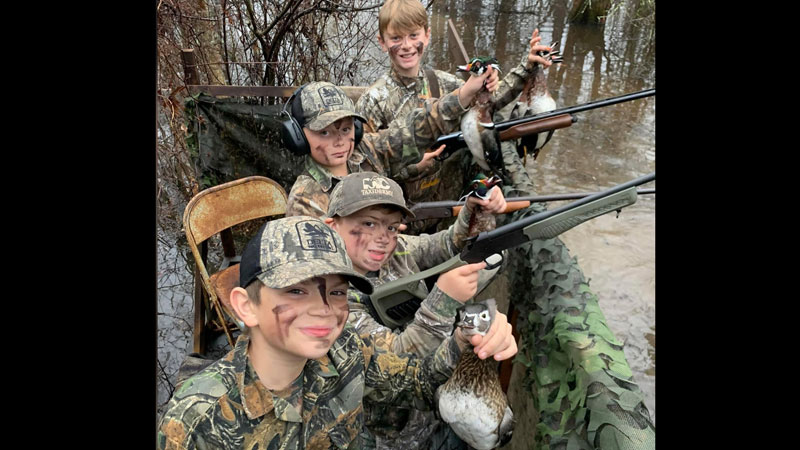Avoyelles Parish duck hunt