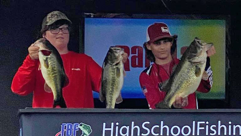 Brother, sister, and friend tag-team to victory in high school fishing tourneys