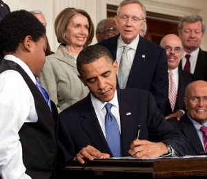 Small Business Ideas: Obama Signing