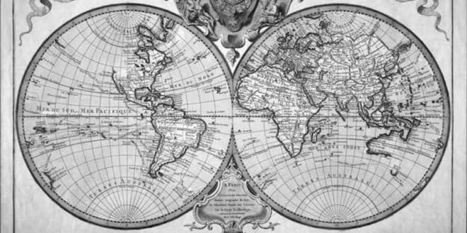 The-Old-World-Map