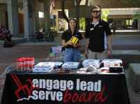 Engage Lead Serve Board directors, Natalie Shields and Mike Venard.