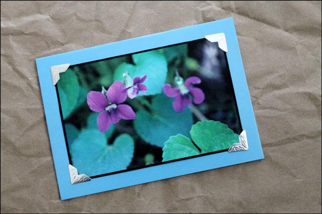 handmade-greeting-card-using photograph