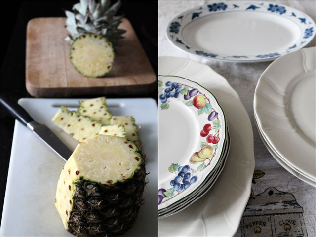 pineapple-and-plates