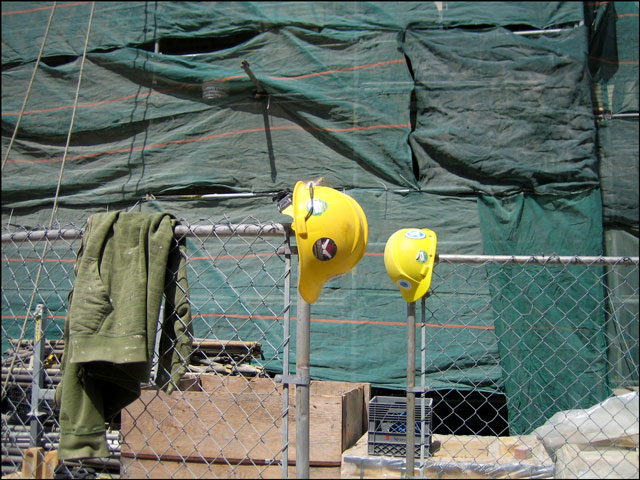 two-safety-helmets