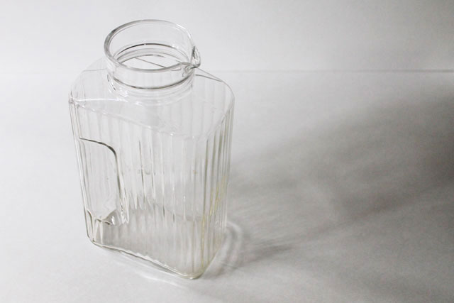 thrifted-vintage-glass-juice-pitcher