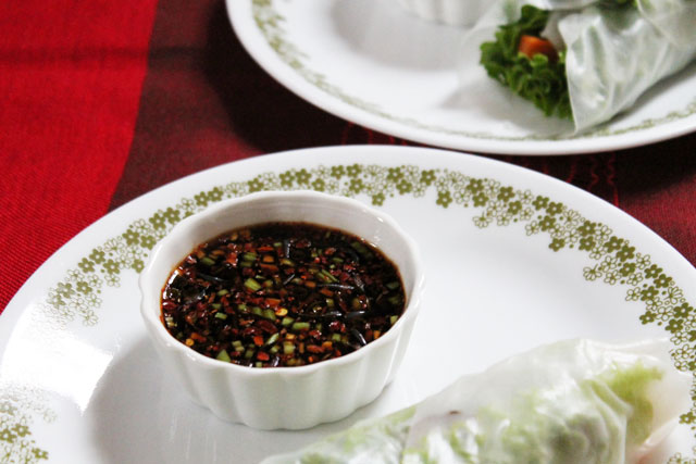 Homemade Asian Dipping Sauce