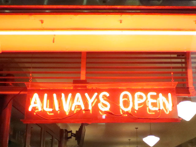 lakeview-always-open-sign