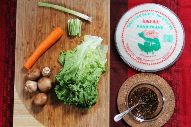 salad-roll-ingredients