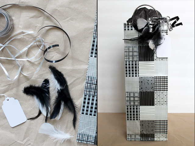 making-a-gift-decoration-with-feathers