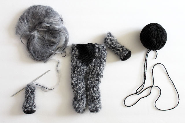 working-on-crocheted-cat-doll