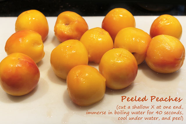 how-to-peel-peaches-easily
