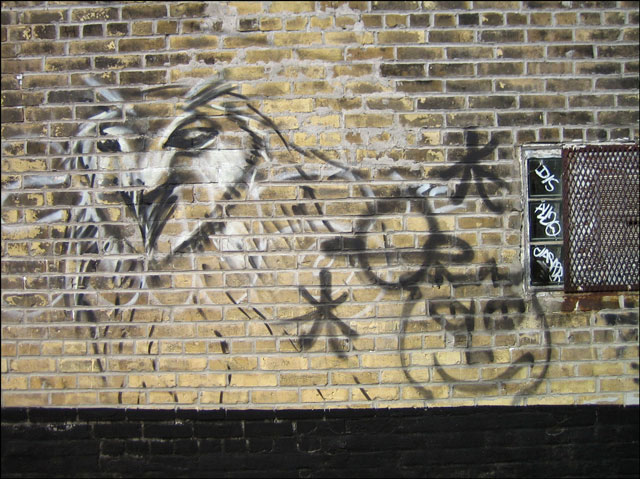 owl-painting-on-wall