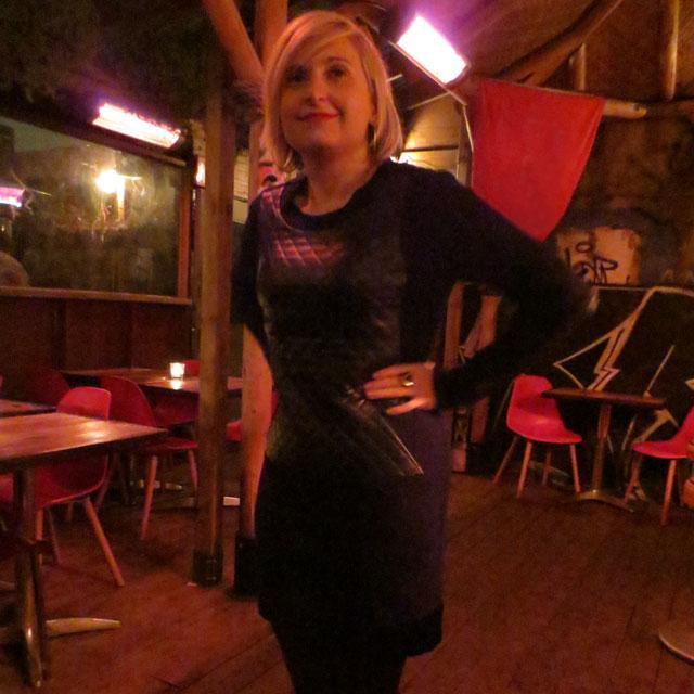 wearing-dress-from-shopgirls-toronto