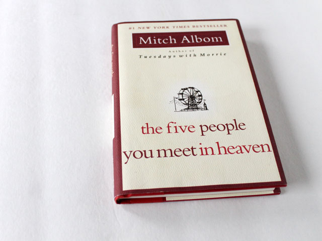 thrifted-book-the-five-people-you-meet-in-heaven-by-mitch-albom