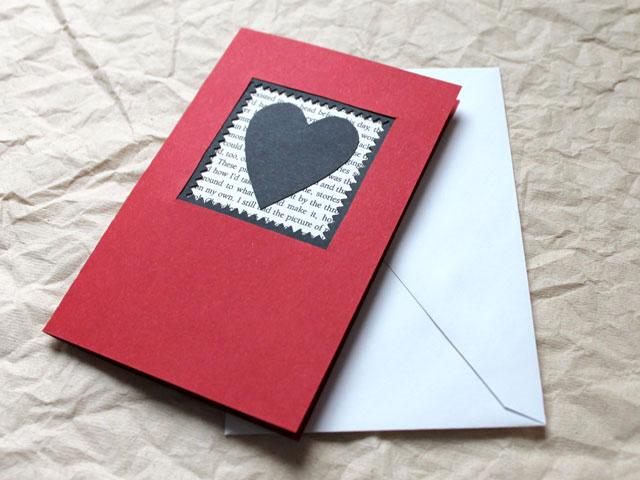 handmade-valentine-card-diy-red-white-and-black