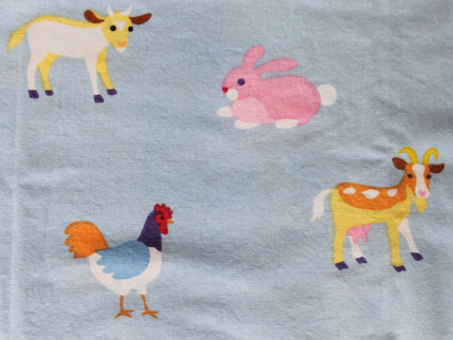 thrifted-olive-kids-cotton-pillow-cases-farm-print-print-detail