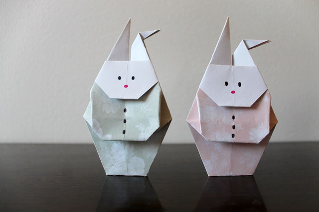 origami-rabbit-with-clothes-on