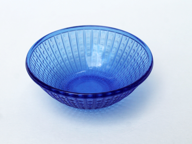 thrifted-cobalt-blue-small-glass-bowl