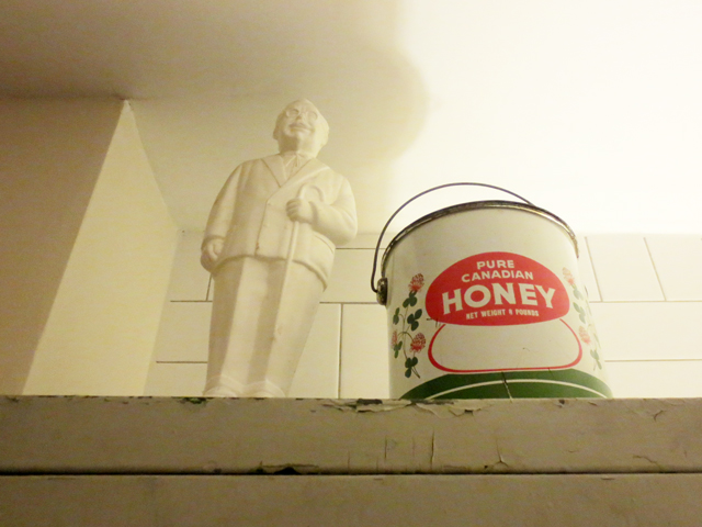 colonel-sanders-bank-and-pure-canadian-honey-tin