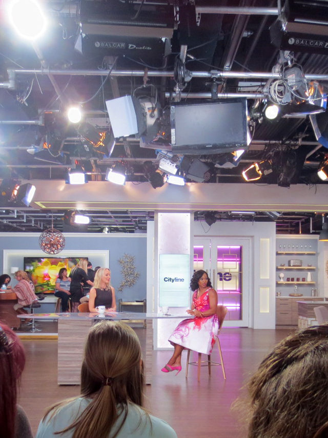 tracy-moore-on-set-of-cityline