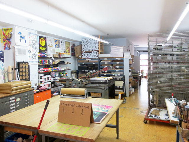 kid-icarus-screen-print-studio-kensington-market-toronto