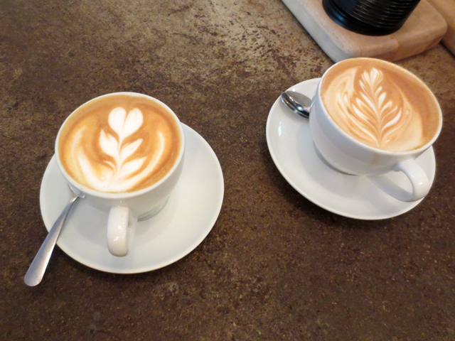 latte-and-cappuccino-at-cafe-pamenar-in-kensington-market-toronto