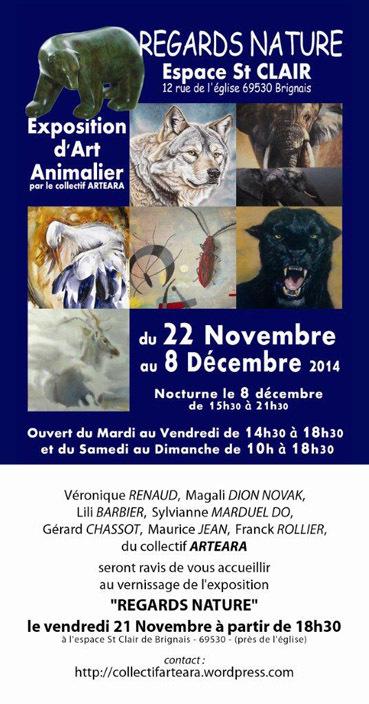 """Véronique Renaud à l'Exposition d'Art Animalier """"Regards Nature"""""""