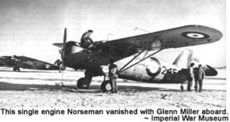 Image result for glenn miller's norseman aircraft