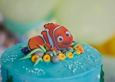 Buscando a Nemo. Babyshower de Sergio