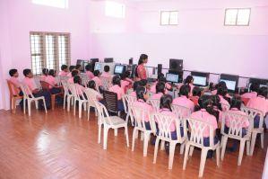 Lourdes Matha School, Computer Library