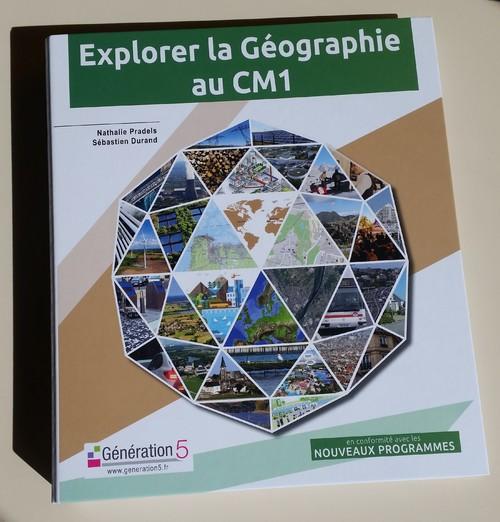 Explorer la géographie au Cm1