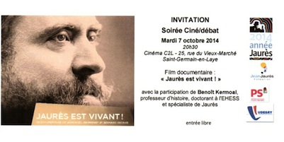 Hommage à Jean Jaurès au cinéma C2L de Saint-Germain-en-Laye