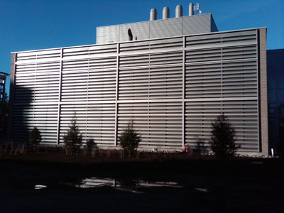Large Acoustical Louver