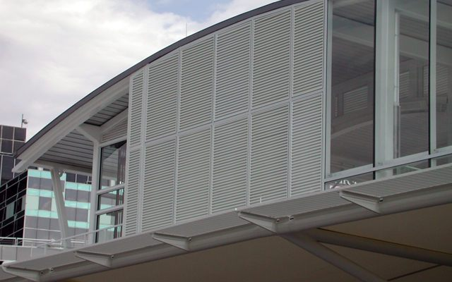 Extruded Louvers