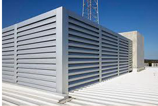 Vision Screen Louvers – Sight Proof Louvers & Equipment Screens