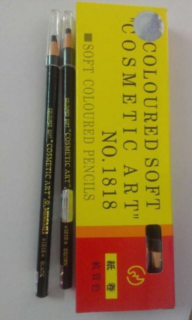 waterproof eyebrow pull-pencil -brown, Neutral browm,black ,Grey