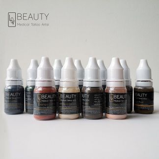 5 bottles Lovbeauty Organic pigment cream for Microblading