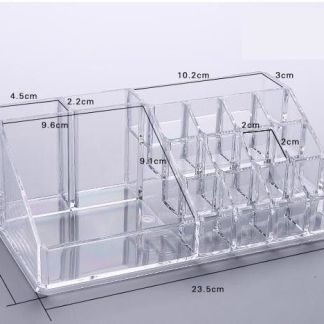 Acrylic Jewelry Makeup Cosmetic Organizer Case Display Holder