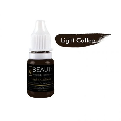 Medical Grade micro cream pigment for eyebrow Light Coffee
